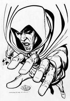 The Spectre by John Byrne Comic Book Artists, Comic Book Heroes, Comic Books Art, Comic Art, John Byrne, Spirit Of Vengeance, The Spectre, Justice League Dark, Supernatural Beings