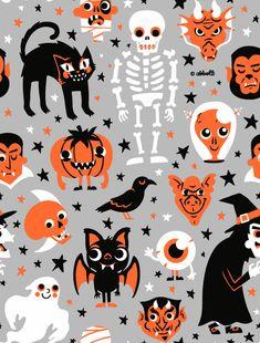 Halloween is Coming! pattern by Greg Abbott