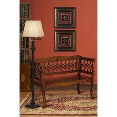 Restoration Bronze Swing Arm Floor Lamp