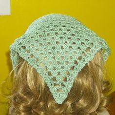 Crochet Kerchief   Free Crochet Pattern