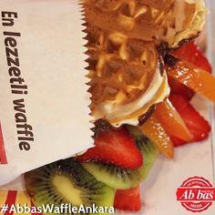 En lezzetli waffle Abbas Waffle Ankara Ankara, Dec 30, Waffles, Breakfast, Instagram Posts, Food, Morning Coffee, Essen, Waffle