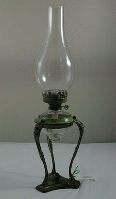 Oil Lamp With Tripod Stand The invention of electricity my be the single greatest, most history altering event.