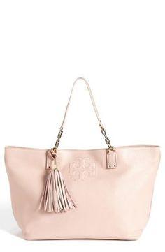 Tory Burch Thea Large Tote Bag in Porcelain Pink - Handbag