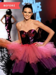 Kendall Jenner has come a long way since her first runway show...