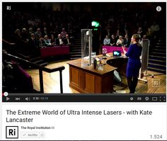 Il brillante futuro dei laser / The Extreme World of Ultra Intense Lasers and Building a Tabletop Accelerator