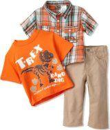 Little Rebels Baby Boys' 3 Piece T Rex Pant Set, Orange, 18 Months Shopping Catalogues, Cute Baby Clothes, Little Man, Animal Design, T Rex, Best Brand, Baby Boy Outfits, 3 Piece, Cute Babies