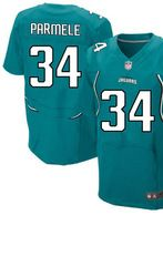 """$78.00--Jalen Parmele Jersey - Elite Teal Home Nike Stitched Jacksonville Jaguars #34 Jersey,Free Shipping! Buy it now:click on the picture, than click on """"visit aliexpress.com"""" In the new page."""