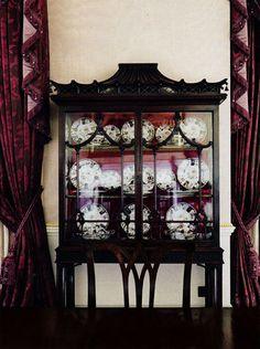 "Cotswolds Georgian ""Williamstrip"" - Interior Design Mark Gillette, House & Garden May 2013"