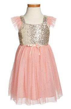 Popatu Sequin Bodice Dress (Nordstrom)