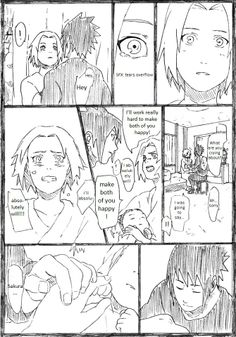 SasuSaku family doujinshi page 7