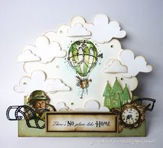Steampunk Journey - There's No Place Like Home! Jane Johnson - Stempelglede :: Design Team Blog