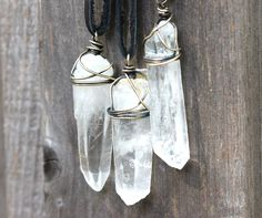 Raw Crystal Necklace Crystal Jewelry Natural Crystal Necklace Mineral Jewelry Raw Stone Jewelry Crystal Necklace Natural Stone Jewelry