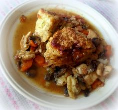 Chicken, Bacon and Mushroom Cobblerfrom The English Kitchen