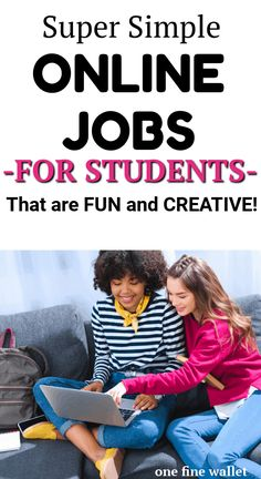 Here are over 17 of the best online jobs for college students at home that show you creative ways to make money online. Are you ready for this?