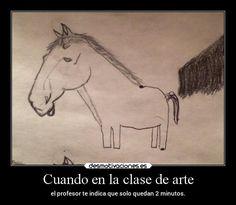 carteles arte humor davor safth clandesplazado soyunidiotatm caballos guapamianyi desmotivaciones