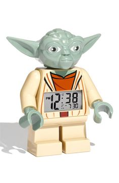 Free shipping and returns on LEGO® 'Yoda™' Alarm Clock at Nordstrom.com. Wise Star Wars™ character features a digital time display and serves as a functioning alarm clock.