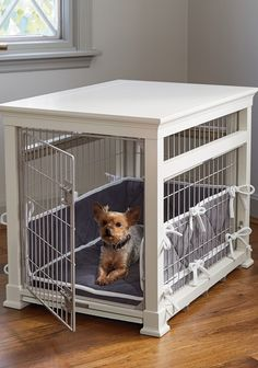 24 Excellent Dog Crates With Metal Trays Dog Crate Cover 24 Inch Metal Dog Kennel, Wooden Dog Kennels, Dog Crate Cover, Diy Dog Crate, Wooden Dog Crate, Dog Crate Furniture, Furniture Ads, Steel Furniture, Furniture Online