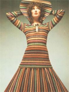 Photo by Barry Lategan 1971 MISSONI