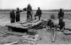 Marines build a fighting bunker, Con Thien, January 1968 - Con Thien - Wikipedia, the free encyclopedia