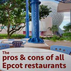 Pros and cons of every Epcot restaurant