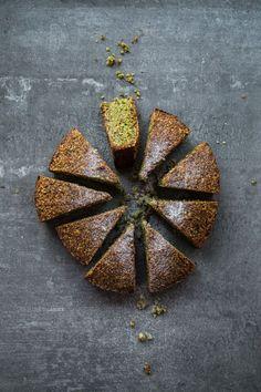 GF DF pistachio cake