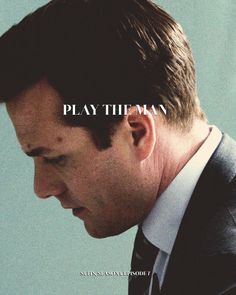 Play the Man - Harvey Specter Serie Suits, Suits Tv Series, Suits Tv Shows, Harvey Specter Suits, Suits Harvey, Donna Paulsen, Suits Quotes, Suits Usa, Gabriel Macht