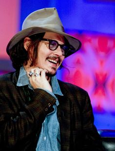 I love that Johnny Depp!!!