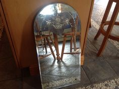 Scord this cool mirror for 5.00 loving it