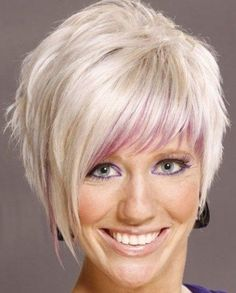 Short Two Toned Hairstyle