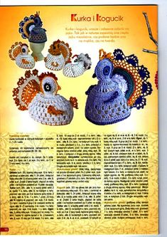 Crochet hen -- my sister so needs these