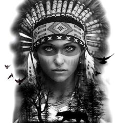 Black and White Tattoo Design India - Black and White Tattoo Design In . - India black and white tattoo design – India black and white tattoo design - Indian Women Tattoo, Native Indian Tattoos, Indian Girl Tattoos, Indian Tattoo Design, Native American Tattoos, Geometric Tattoo Indian, Geometric Tattoos, American Indian Girl, Native American Girls