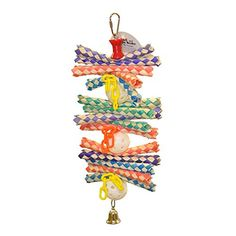 A and E Cage Co Finger Stack Bird Toy * Click image for more details.Note:It is affiliate link to Amazon.