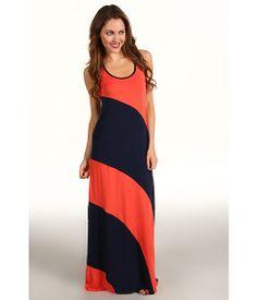 Michael Stars Stella Color Block Modal Jersey Maxi Dress - Zappos.com Free Shipping BOTH Ways