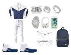 """Untitled #15"" by jayyjayy17 ❤ liked on Polyvore featuring NIKE, Dsquared2 and Herschel Supply Co."