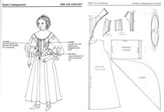 """""""Patterns for Theatrical Costumes"""" www.pinterest.com                                                                                                                                                                                 More"""