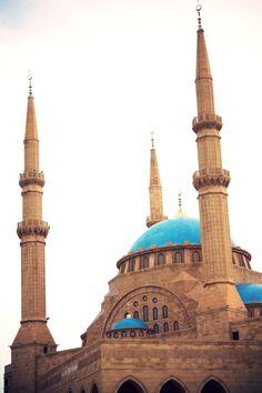 Rafik Al Hariri Mosque , Lebanon