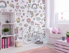 טפטים לחדרי ילדים ונוער - עיינו בקטלוג טפטים לעיצוב קיר בחדר ילדים - ALEA DESIGN Wall Decals, Curtains, Shower, Wallpaper, Prints, Home Decor, Rain Shower Heads, Blinds, Decoration Home
