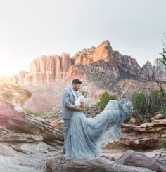 Desert Wedding Inspiration at Zion National Park