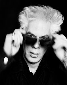 Jim Jarmusch (1953) - American independent film director, screenwriter, actor, producer, editor and composer.  Photo Patrick Swirc