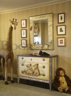♥ Safari nursery by interior designer Zoya Bograd ♥