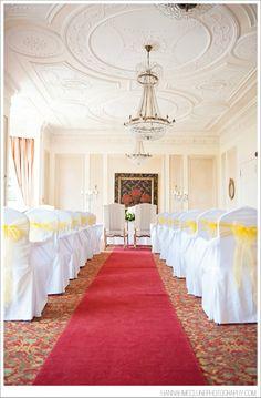 Ceremony room Hannah McClune Photography {Danesfield House, Marlow, wedding photographer}