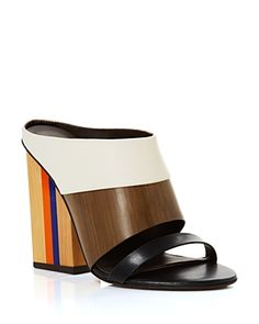 Tory Burch Slide Mule Sandals - Mika Mule Sandals, Slide Sandals, Shoes Sandals, Manolo Blahnik, Designer Shoes, Jimmy Choo, Heeled Mules, Tory Burch, High Heels
