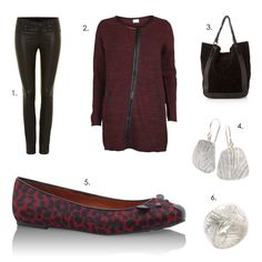 weekend/shopping outfit! 1.Trousers: Marc Jabocs 2.Cardigan: Vila 3.Shopper: McGregor 4.Earrings: Zsiska Diva 5.Shoes: Marc Jacobs 6.Ring: Zsiska Diva