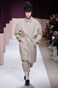 Henrik Vibskov Fall Winter 2015 | Belted Trench Wool Coat