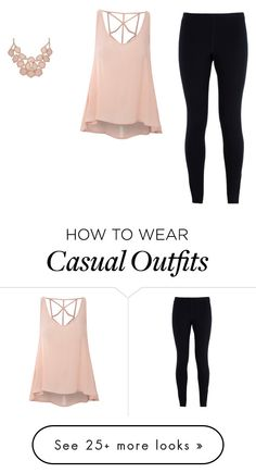 """Casual"" by soccerqueenc on Polyvore featuring Glamorous and NIKE"