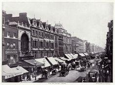 London's Oxford Street in 1896