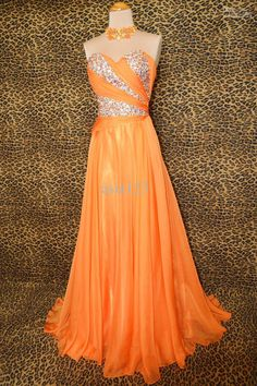 orange prom dresses on pinterest prom dresses and