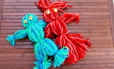 Making yarn dolls is so easy you won't want to stop. This is a cute little retro craft that kids will love and before you know it, you'll have a family of ya...