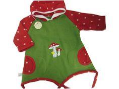 Pullover - Zipfelshirt Pilze Fleece Shirt - ein Designerstück von me-kinderkleidung bei DaWanda