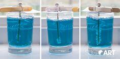Wooloo | Créer la magie de la Reine des Neiges… en sucre!  / DIY Candy Rock candy